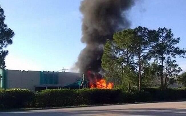 Avião que se chocou contra creche era um Piper PA-28 , que havia decolado do aeroporto Page Field, em Fort Myers