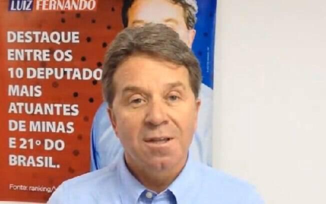 Deputado pelo PP de Minas Gerais, Luiz Fernando Faria é investigado no inquérito que envolve 37 pessoas. Foto: Reprodução