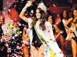 Melissa Gurgel foi eleita Miss Brasil no último sábado, em Fortaleza