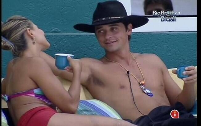 Fael e Fabiana conversam sobre reação de Yuri