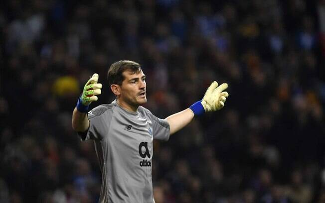 Iker Casillas sofreu infarto no dia 01 de maio e está afastado dos gramados