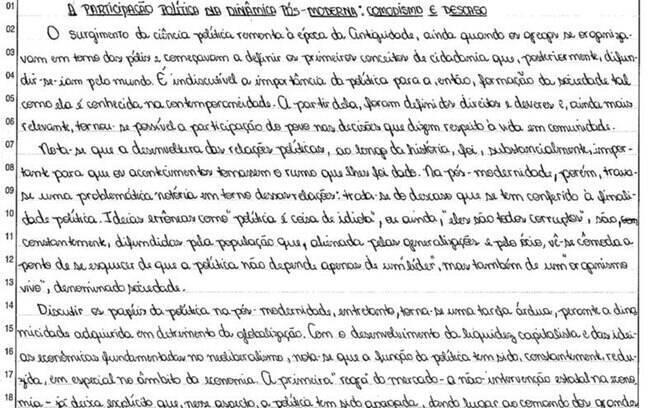 fuvest divulga melhores reda u00e7 u00f5es do vestibular 2012