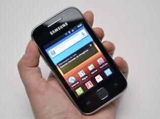 Galaxy Y é um aparelho de entrada com Android 2.3