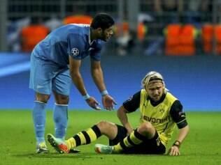 Schmelzer sofreu uma distensão muscular na virilha, diante do Zenit