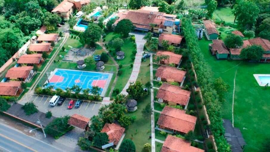 Às margens do Rio Paraíba do Sul, o Hotel Vale do Sonho é boa opção para famílias