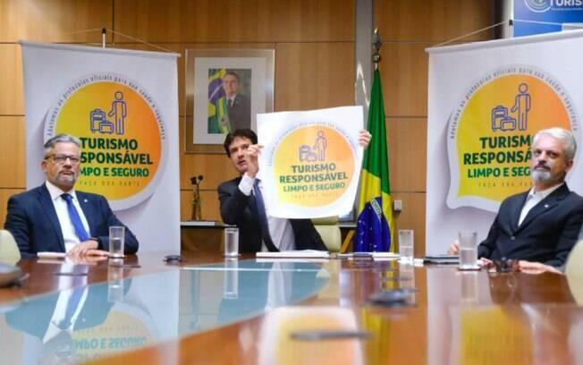 Selo Turismo Responsável visa reabertura do setor turístico em meio à pandemia de Covid-19