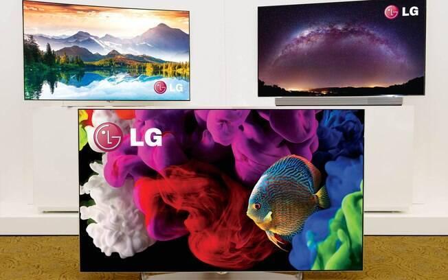 LG mostrou TVs com nova versão do webOS na CES 2015. Foto: Divulgação