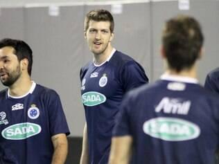 Central Éder foi campeão mundial pouco tempo após chegar ao Sada Cruzeiro