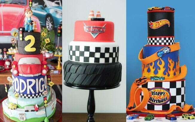 Bolos de dois ou mais andares estão super em alta e dão a opção de um bolo com diferentes tipos de recheios para a festa