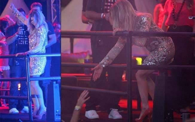 Fergie agitou o público do Stage Music Park, em Jurerê Internacional