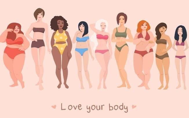 Body positive: o padrão da moda é amar seu corpo!