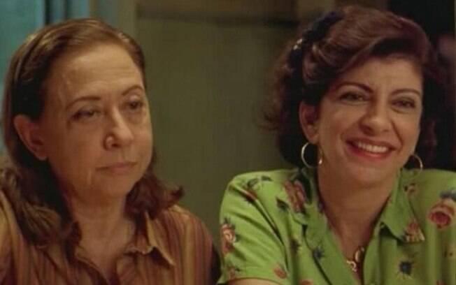 Com Fernanda Montenegro no filme