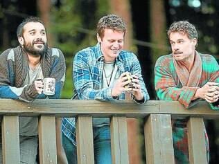 Jornada. Segunda temporada começa com Agustín, Patrick e Domem uma viagem para o campo
