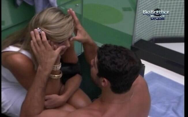 Prestativo, Yuri seca as lágrimas de Fabiana