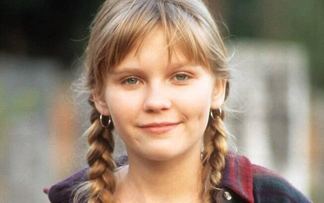 Kirsten Dunst muito antes de dar vida à Mary Kate, em