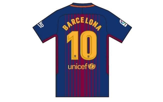 No lugar dos nomes dos jogadores, aparecerá a palavra Barcelona, cidade que sofreu com ataques terroristas