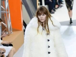 A versão urso-polar da Louis Vuitton