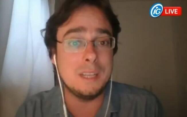 Pedro Tourinho foi o entrevistado do iG nesta segunda.
