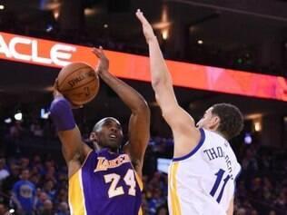 Apesar de mais uma boa atuação de Kobe Bryant, Lakers segue rotina de derrotas na NBA