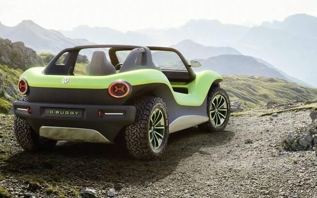 O futuro EV terá uma característica aventureira com perfil off-road leve