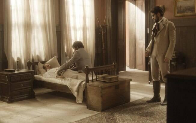 Peter examina corpo de Schultz e encontra ferimento suspeito em Novo Mundo