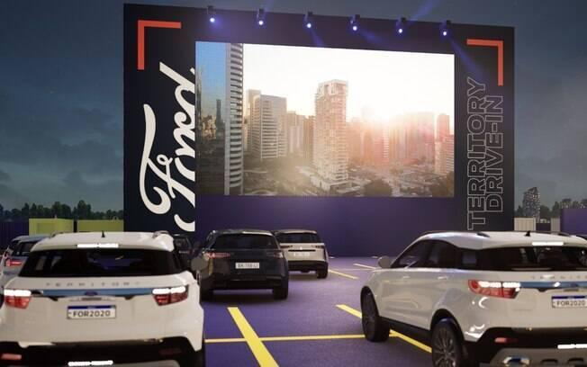 Ford Territory Drive-in exibe Guaraní x Palmeiras pela Libertadores