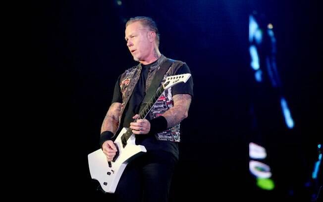 Foto  Vivian Fernandez iG. Show do Metallica no Rock in Rio 2013 cf69cbb9be8