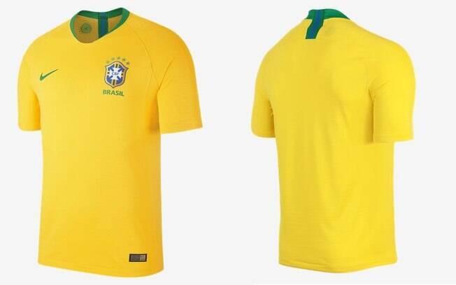 Camisa da Seleção Brasileira modelo jogador