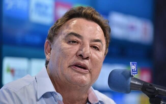 Perrella foi o único da diretoria do Cruzeiro que deu entrevistas