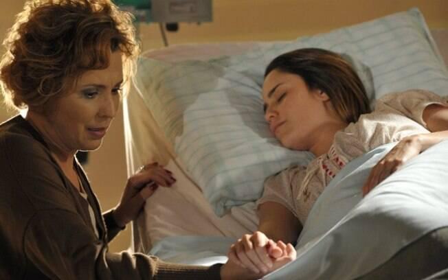 Eva (Ana Beatriz Nogueira) e Ana (Fernanda Vasconcellos)