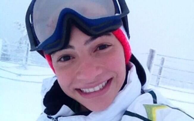 A ex-ginasta Laís Souza treinava para representar o Brasil no ski aerials, quando sofreu um acidente e ficou tetraplégica