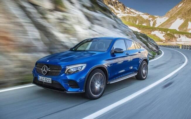 Mercedes-Benz GLC Coupé 250 4MATIC é um dos modelos importados que a marca vende no Brasil