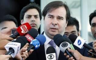 Maia adia jantar com o PSL após ser alvo em manifestações a favor de Bolsonaro