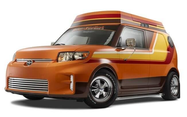 O modelo da marca ligada à GM que já foi extinta é apenas um protótipo, mas um dos mais estranhos que já se viu
