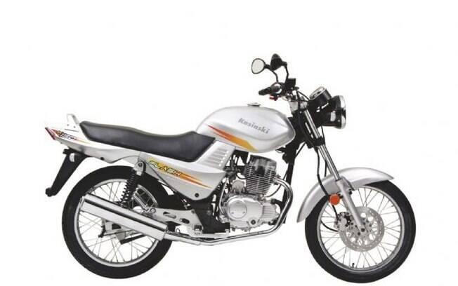 Kasinski Flash foi um dos modelos de maior sucesso entre as marcas de motos da lista