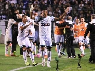 O atacante Marcão voltou a balançar as redes contra o Palmeiras, na noite deste domingo