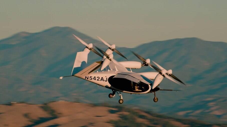 Joby Aviation já levantou mais de US$ 700 milhões em capital privado, algo em torno de R$ 2,6 bilhões para projeto de construção de táxis aéreos.