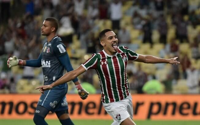 Gilberto marcou um dos gols do Fluminense na Copa do Brasil