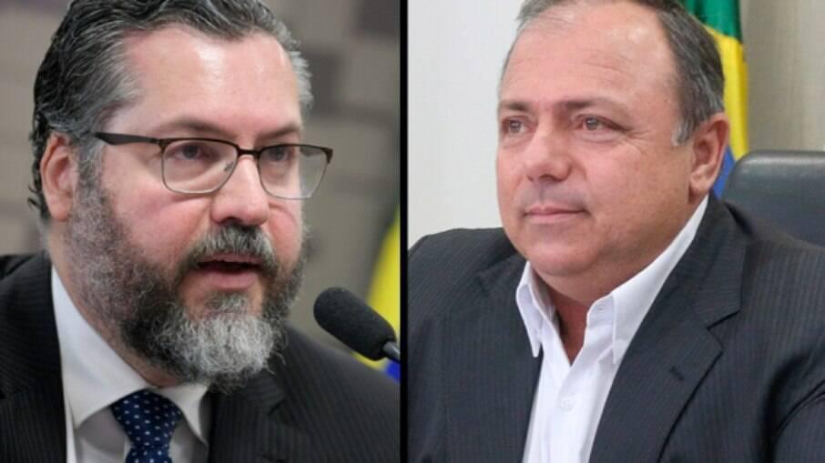 Temperamento explosivo e inabilidade política causam temor de que Ernesto Araújo e Eduardo Pazuello possam desgastar imagem do Planalto