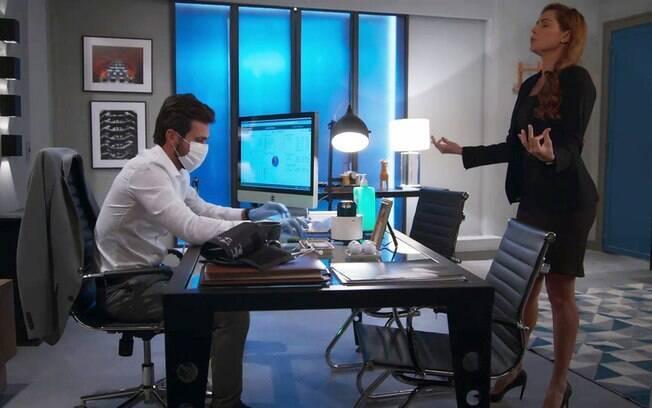 O plano de Alexia para Kyra se encontrar com Rafael dá certo