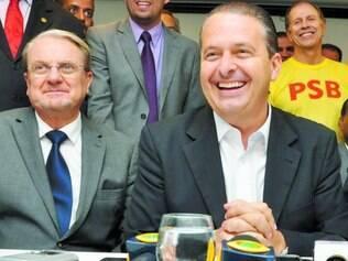 Fiel. Se depender de Marcio Lacerda, Eduardo Campos não terá palanque próprio em MG