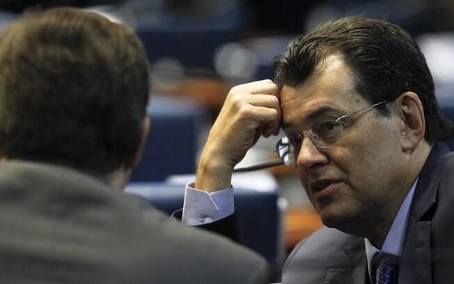 Eduardo Braga é líder do MDB no Senado