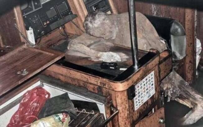 Manfred Bajorat era quem estava à bordo do iate, mas não se sabe há quanto tempo ele morreu
