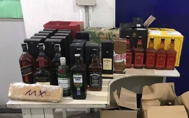 Três são detidos em Campinas por falsificação de bebida alcóolica e tráfico de drogas