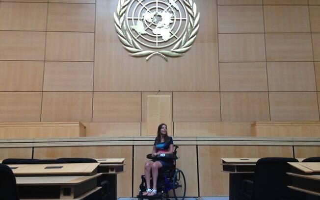 Mara Gabrilli discute o tema Direitos Humanos