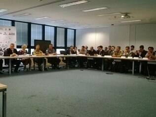 Reunião contou com representas das forças de segurança e dos Estados que fazem fronteira com Minas
