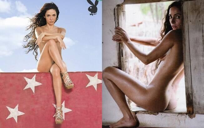 Claudia Ohana fotografa nua