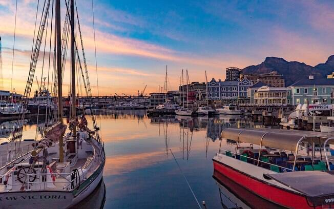 Cape Town é a capital legislativa do país
