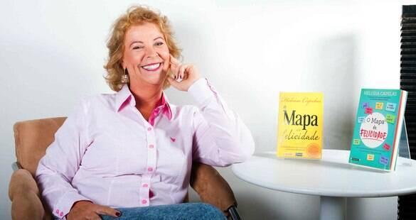 Em livro, Heloísa Capelas dá dicas para quem está em busca da felicidade