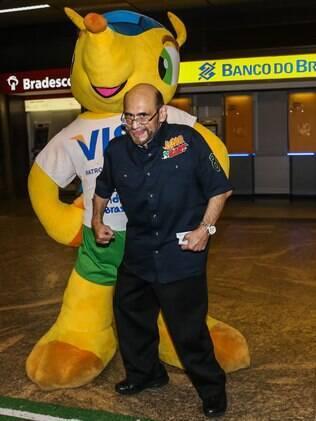 Edgar Vivas, o Sr. Barriga do seriado 'Chaves'